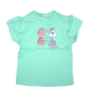 Dirkje Girls T-shirt Fabulous Azuur