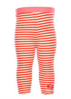 Flo Baby Girls Gina Legging Tomato Stripe