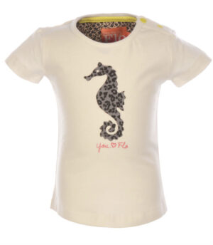 Flo Baby Girls T-shirt Loes Off-white