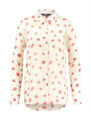 Heav'n dames blouse Panama cream
