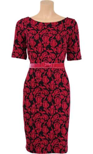 King Louie Gloria Dress Camee Jester Red