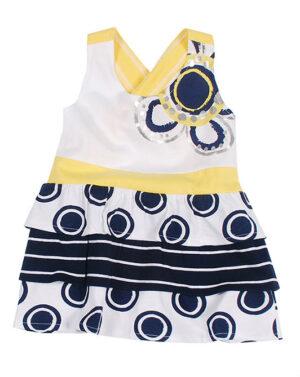 UBS2 Girls Top Dot and Stripes