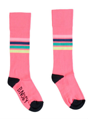B.Nosy girls socks roze stripes