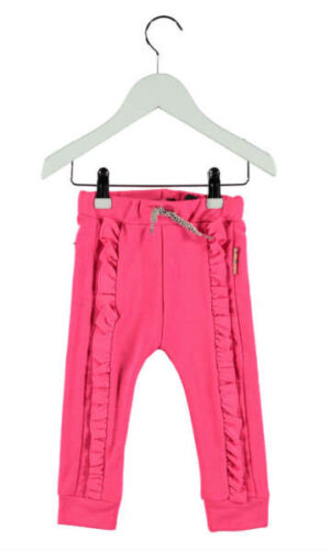 B Nosy baby meisjes sweatpants with ruffle magneta 62-92