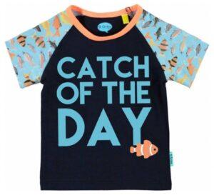 O'Chillie baby jongetjes t-shirt Peppijn donkerblauw