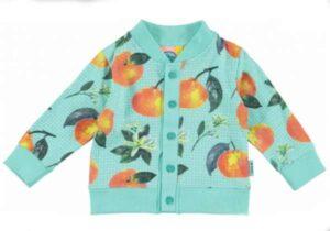 O'Chillie baby meisjes vestje Maud beach mint