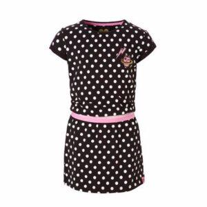 Z8 jurk Anouk graphite-bright-white-dots