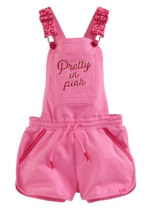 Z8 meisjes Amber salopette popping pink