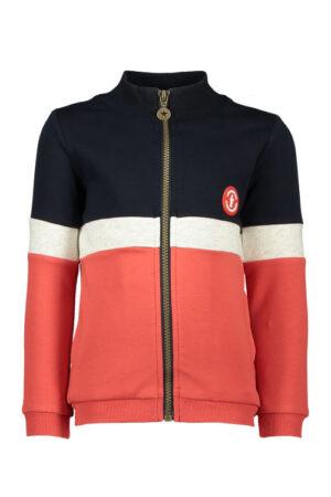 Like Flo boys colour block cardigan F902-6300