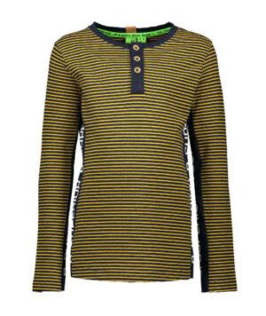 B.Nosy boys ls shirt stripe ink blue-mars yellow Y908-6435