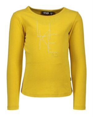 Like Flo jersey ls tee F908-5400 oker