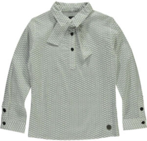 Levv meisjes blouse Delice white dot
