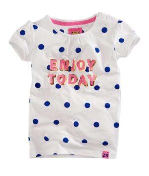 Z8 meisjes t-shirt Zoe bright white