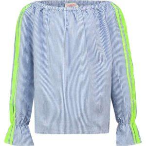 Vingino meisjes blouse Lirana denim blue