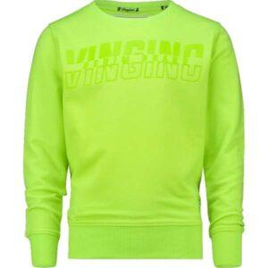 Vingino jongens sweater Neone neon green