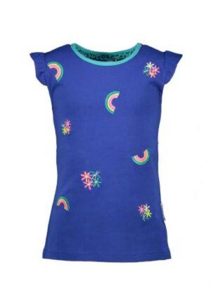 B.Nosy meisjes t-shirt princess blue Y002-5464