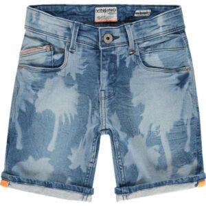Vingino jongens shorts Carlino mid blue wash