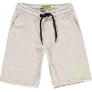 Vingino jongens shorts Rexx light grey melee