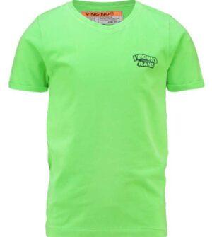 Vingino jongens t-shirt Hangu neon green