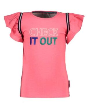 B.Nosy meisjes t-shirt festival pink Y002-5466-290