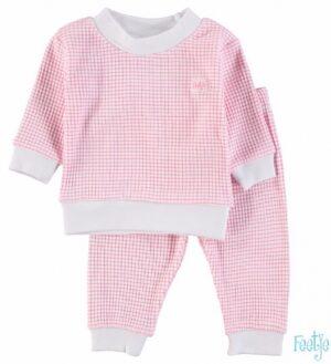 Feetje baby meisjes pyjama wafel roze