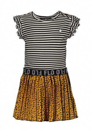 Like Flo baby meisjes ruffle dress F003-7814