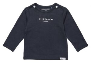 Noppies baby t-shirt Hester charcoal
