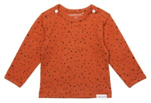 Noppies baby long sleeve Kris spicy ginger