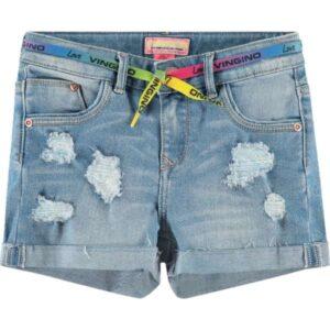 Vingino meisjes shorts Dafina light denim
