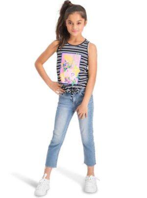 Vingino meisjes jeans Candy light vintage