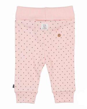 Feetje baby meisjes broekje roze dots