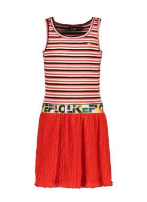Like Flo meisjes jurk zigzag F004-5812