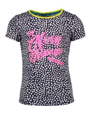 B.Nosy meisjes t-shirt dots space blue Y005-5440-131