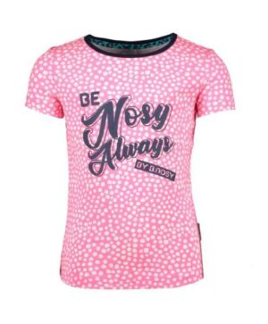 B.Nosy meisjes t-shirt dots pink lollypop Y005-5440-269